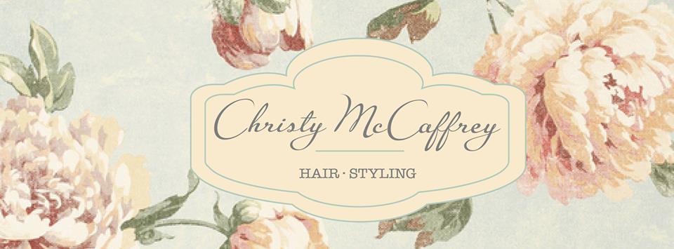 Christy McCaffrey Hair Styling